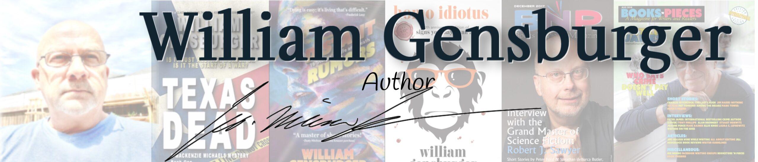 WILLIAM GENSBURGER